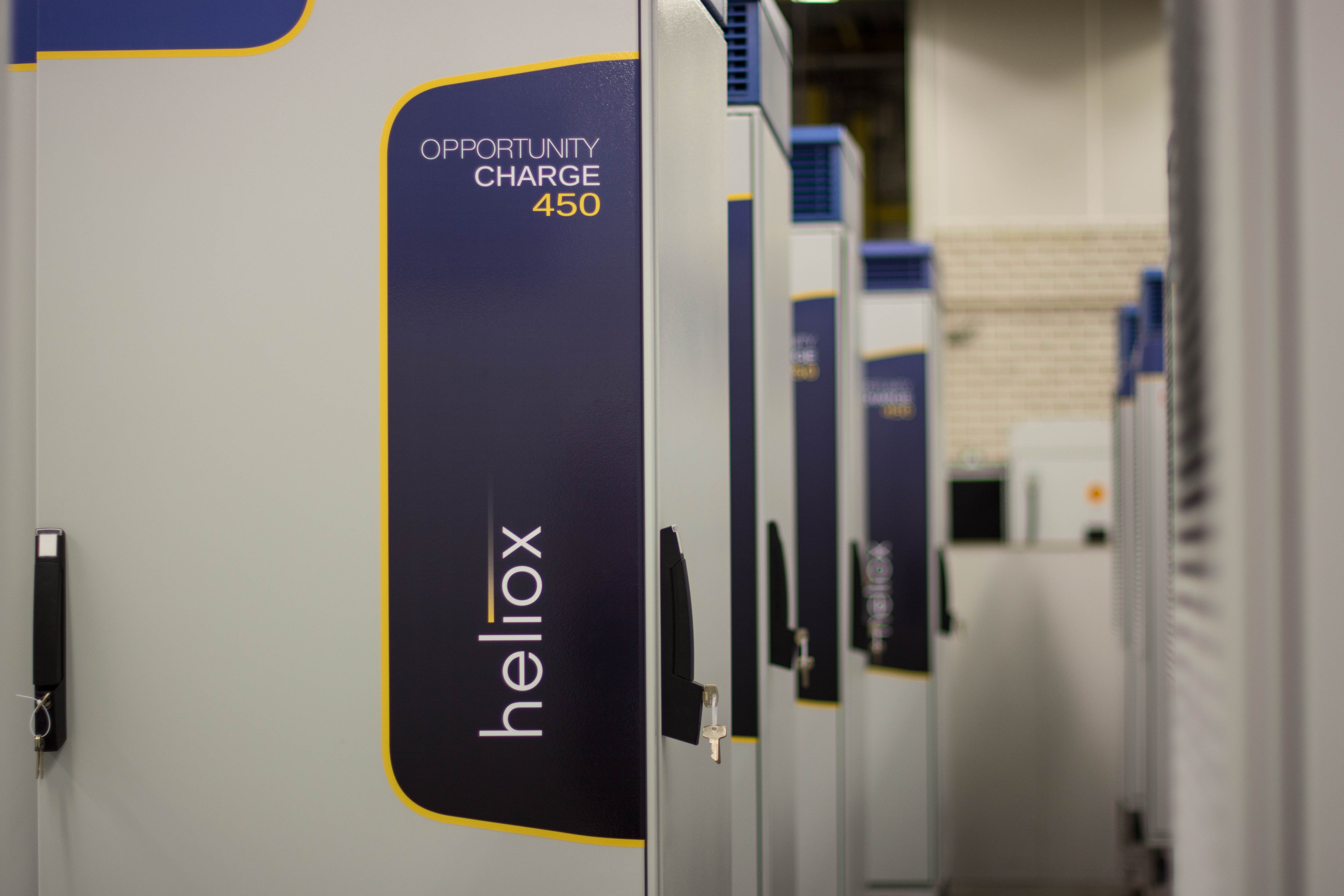 Heliox charge 450