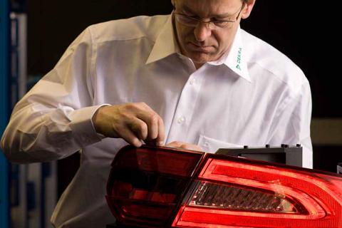 Automotive lighting testing