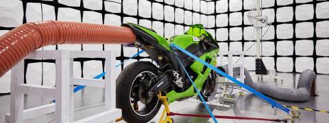 EMC Motorbike test
