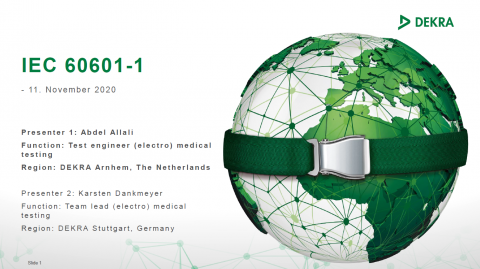 IECE 60601 webinar
