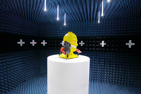 Wireless test in one of DEKRA's wireless laboratories