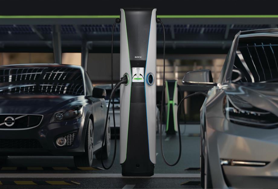 EVBox charging station