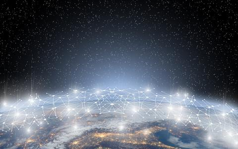 Global network connection image