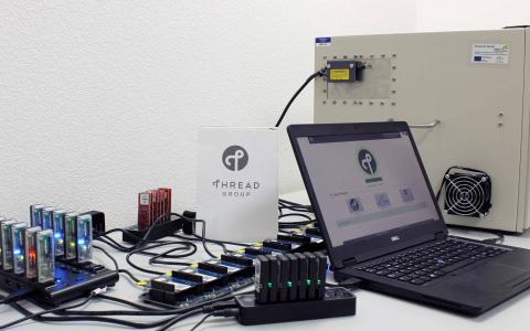 thread test lab setup