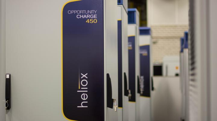 Heliox opportunity charge station 450