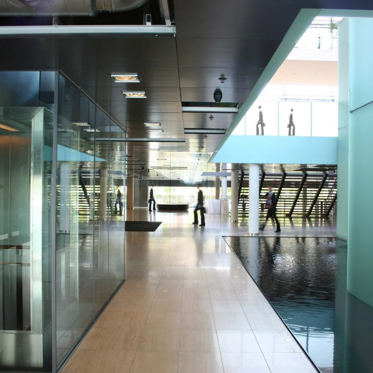 Government scene in a building environment