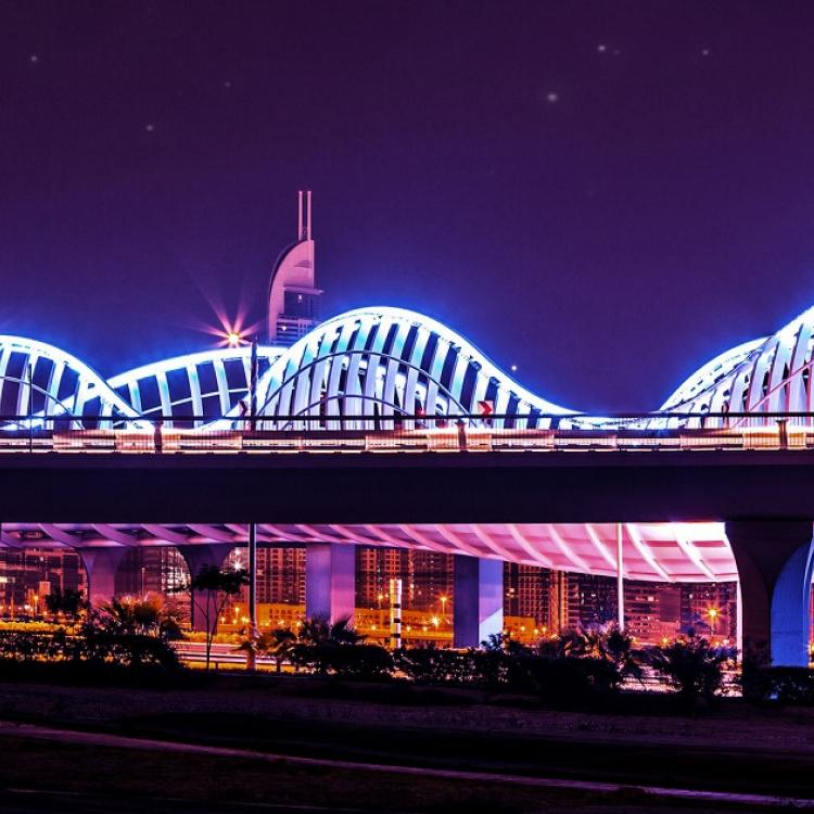 lighting bridge internet of things sustainable